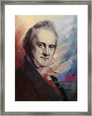 James Buchanan Framed Print by Corporate Art Task Force