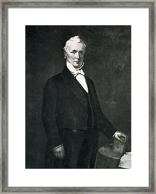 James Buchanan Framed Print