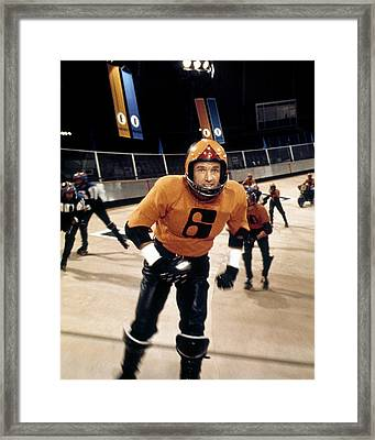 James Caan In Rollerball  Framed Print by Silver Screen