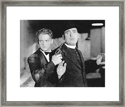 James Cagney In Angels With Dirty Faces  Framed Print by Silver Screen