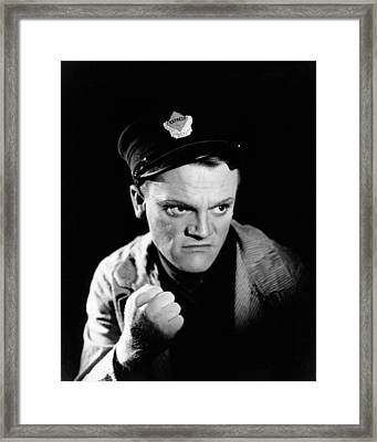 James Cagney In The Public Enemy  Framed Print by Silver Screen