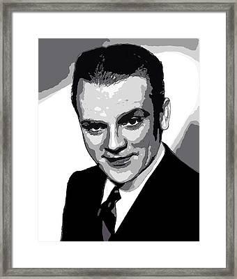 James Cagney - Pencil Framed Print
