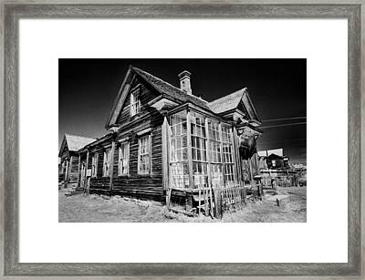 James Cain House Framed Print by Cat Connor