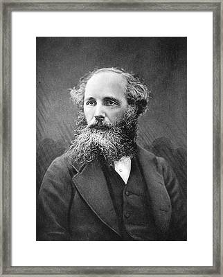 James Clerk Maxwell Framed Print by Science Photo Library