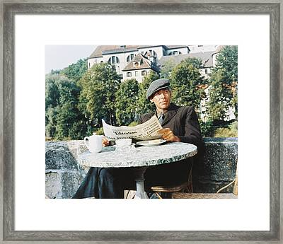 James Coburn In The Great Escape Framed Print by Silver Screen