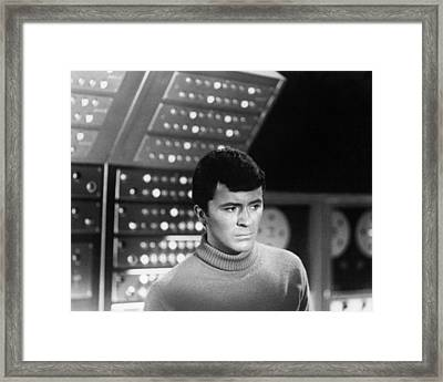 James Darren In The Time Tunnel  Framed Print by Silver Screen