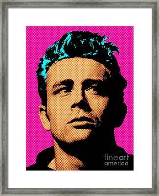 James Dean 001 Framed Print