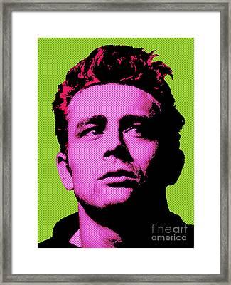 James Dean 003 Framed Print