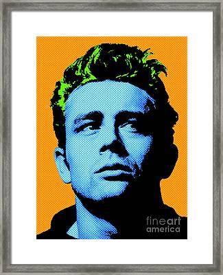 James Dean 004 Framed Print