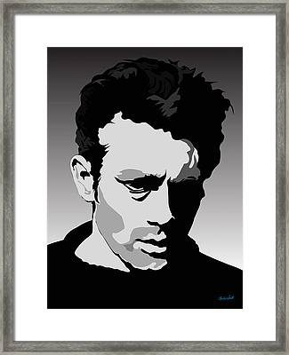 James Dean Framed Print