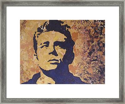 James Dean Framed Print by David Shannon