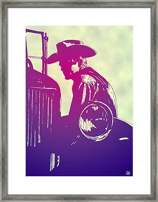 James Dean Framed Print by Giuseppe Cristiano