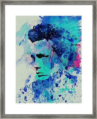 James Dean Framed Print by Naxart Studio