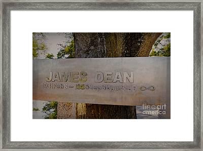 James Dean James Dean Framed Print