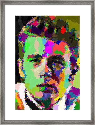 James Dean Portrait Framed Print
