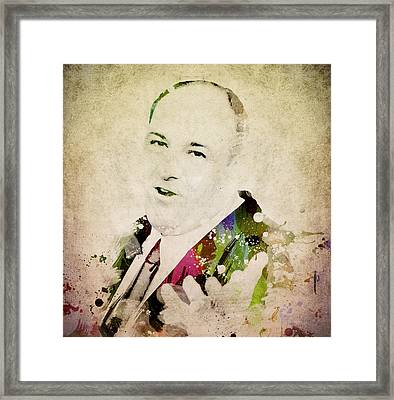 James Gandolfini Framed Print by Aged Pixel