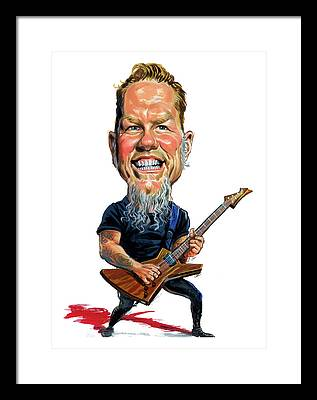 Metallica Framed Prints