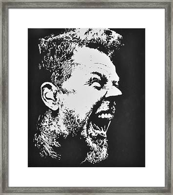James Hetfield Framed Print