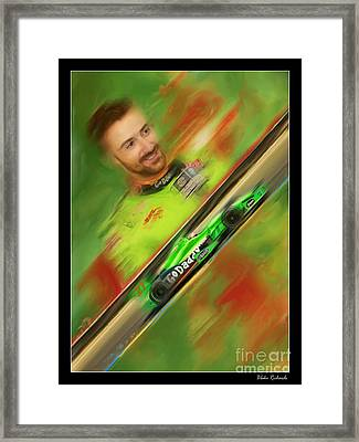 James Hinchcliffe Framed Print