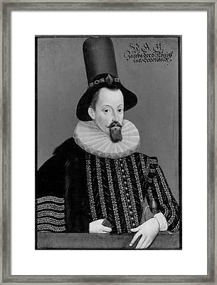 James I (1566-1625) King Of Great Framed Print