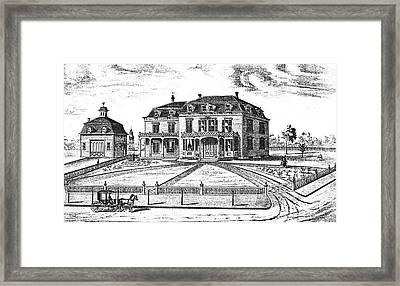 James Inman Residence Framed Print by Granger