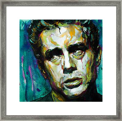 James... Framed Print