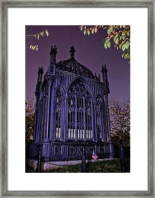 James Monroe Tomb Framed Print by Jemmy Archer