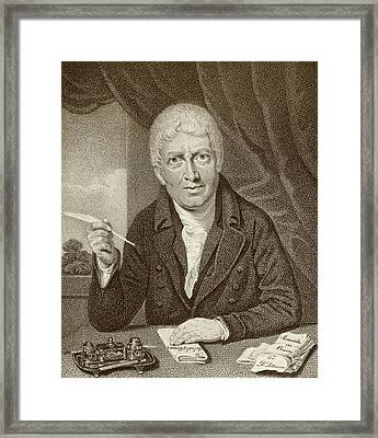 James Neild Framed Print by Middle Temple Library