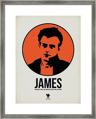James Poster 1 Framed Print