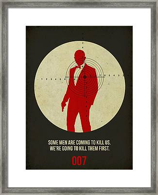 James Poster Black 3 Framed Print
