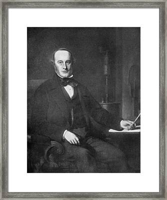 James Prescott Joule (1818-1889) Framed Print by Granger