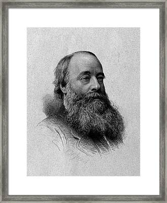 James Prescott Joule, English Physicist Framed Print by Wellcome Images