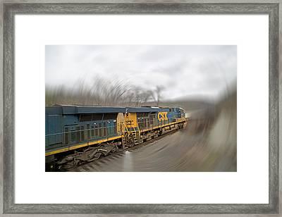 James River Phantom Roar  Framed Print by Betsy Knapp