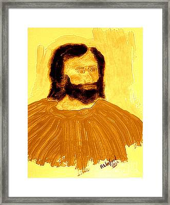 James The Apostle Son Of Zebedee 2 Framed Print by Richard W Linford