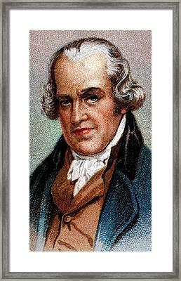James Watt Framed Print by Universal History Archive/uig