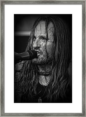 Jamesie Framed Print by Mike Martin