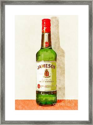Jameson Irish Whiskey 20140916wc Framed Print