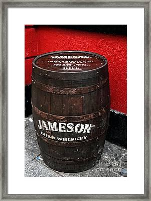 Jameson Irish Whiskey Framed Print by John Rizzuto