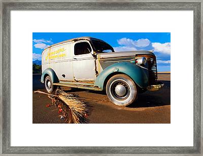 Jamesons Truck Framed Print by Ron Regalado