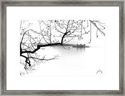 Jamestown Scotland Ferry Framed Print