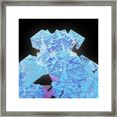 Jutting Frost By Jammer Framed Print by First Star Art