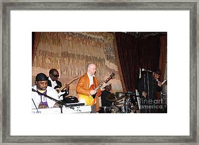 Jamming At Boston's Beehive Night Club Framed Print by John Telfer