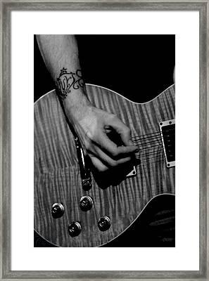 Jamming Framed Print by Kimberly Sokol