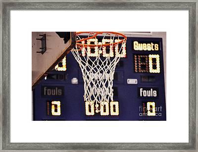 Jan 12 Framed Print
