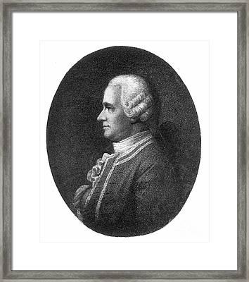Jan Ingenhousz (1730-1799) Framed Print