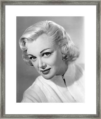 Jan Sterling Framed Print by Silver Screen