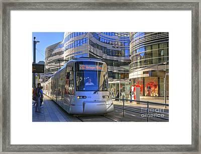 Jan Wellem Platz Duesseldorf Framed Print by David Davies