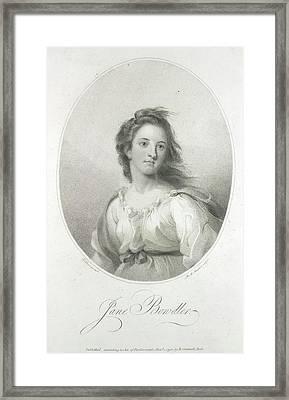 Jane Bondler Framed Print