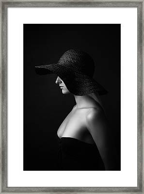 Jane Doe Framed Print