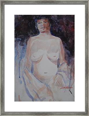 Jane Framed Print by John  Svenson